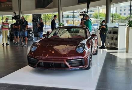 Acesta este noul Porsche 911 Targa 4S Heritage Design Edition din colecția lui Ion Țiriac