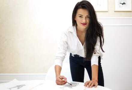 Povestea brandului de fashion Alina Cernătescu: A pornit la drum cu 5.000 euro împrumutați de la prieteni
