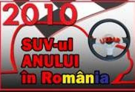 Afla ce model este SUV-ul Anului 2010 in Romania