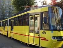 Circulatia tramvaielor liniei...