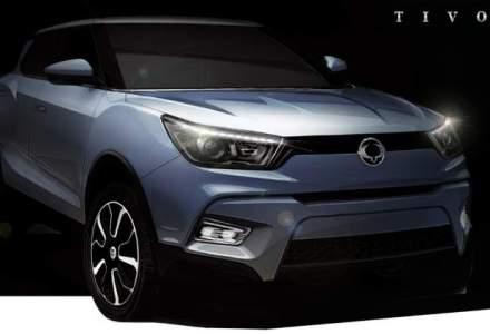 SsangYong lanseaza un nou SUV, denumit Tivoli