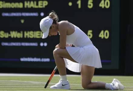 Simona Halep a fost eliminată de la US Open de Elina Svitolina