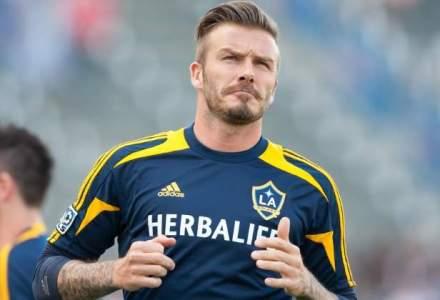 David Beckham si fiul sau Brooklyn au fost implicati intr-un accident rutier