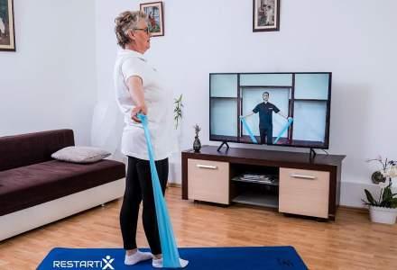 Peste 10.000 de români au apelat la platforma online RestartiX pentru a reduce efectele herniei de disc