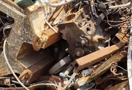 Polițiștii au găsit peste 18 tone de gunoaie importate din Japonia în Constanța