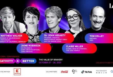 A 5-a ediție a Conferinței Globală IAA #Creativity4Better se apropie!