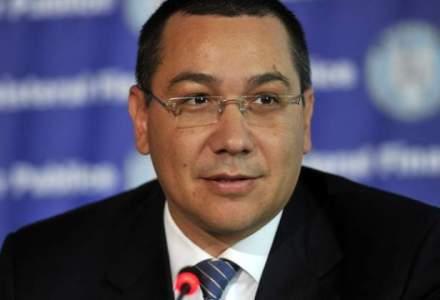 Ponta: UNPR, PC si PLR vor primi cate 2 portofolii. Tariceanu vizeaza Economia si Finantele