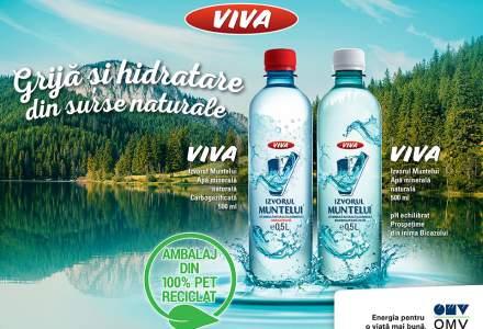 (P) OMV extinde gama de produse VIVA cu Apa Minerală Naturală VIVA Izvorul Muntelui