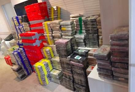 Peste două tone de cocaină, confiscate de pe un iaht în largul Angliei