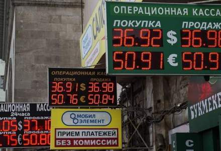 Banca centrala a Rusiei a intervenit din nou pe piata dupa trecerea la flotarea libera a rublei