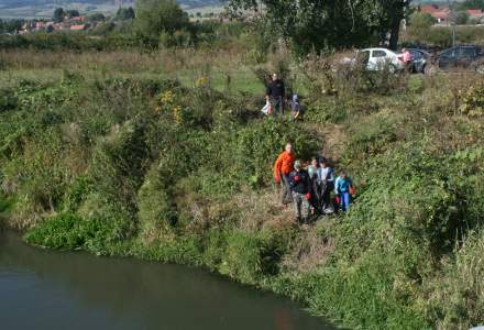 Voluntarii Apele Române au colectat 6,5 tone de deșeuri din râul Olt