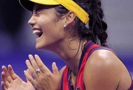Emma Răducanu, noua campioană a US Open, ar putea ajunge vânată de sponsorii sportivi