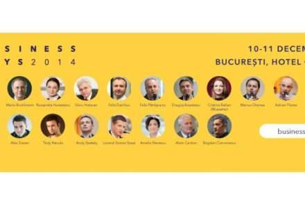 (P) Peste 1.000 de posibili parteneri de afaceri te asteapta la Bucuresti Business Days