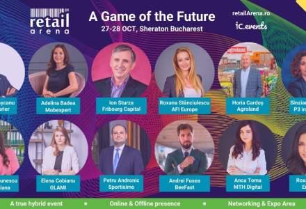Speakeri noi la retailArena: A Game of the Future - cele mai cunoscute nume din online și offline urcă pe scena evenimentului