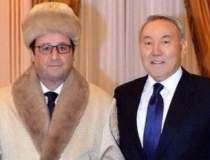 Hollande, subiect de glume pe...