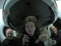 SpaceX: Cei patru pasageri...