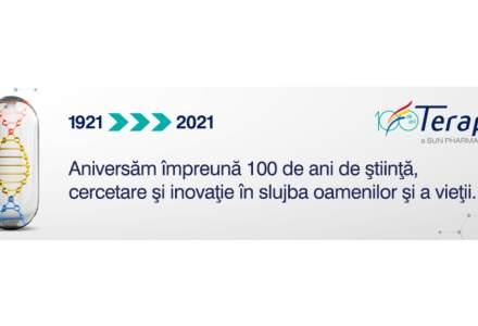 (P) Terapia - 100 de ani de știință, cercetare și inovație în slujba oamenilor și a vieții