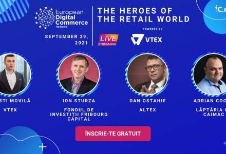 The Heroes of the Retail World: vino să-i cunoști pe 29 septembrie la European Digital Commerce