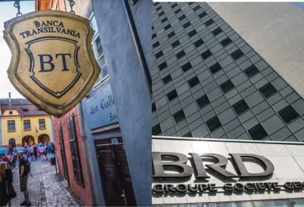 Analiștii cred că marile bănci din România sunt prea ieftine. Cât de mult pot crește Banca Transilvania și BRD în următorul an