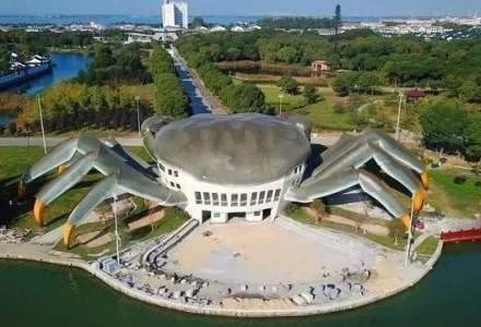 [FOTO] Cea mai urâtă clădire din China: Centrul cultural în formă de crab