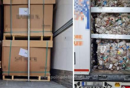 O nouă tranșă de deșeuri din Bulgaria a fost oprită la vama Giurgiu