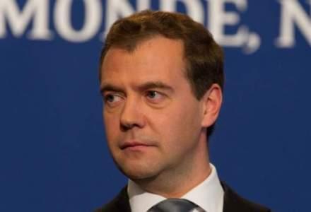 Dmitri Medvedev: Europa va pierde 90 MLD. euro in 2 ani din sanctiunile impuse Rusiei