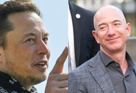 """Elon Musk e cel mai bogat om al Planetei. Miliardarul îi va trimite lui Jeff Bezos o statuie în forma cifrei """"2"""""""