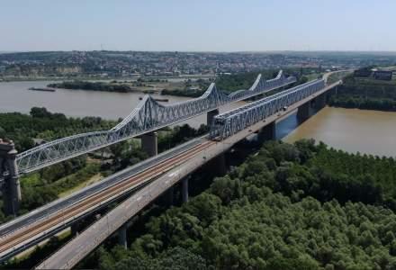 Se reiau lucrările la calea de rulare la Podul de la Cernavodă