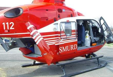 Filmul prabusirii elicopterului SMURD: interventia a durat 12 ore