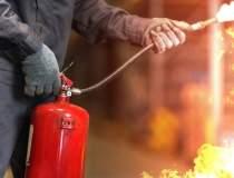 Incendiu puternic într-un...