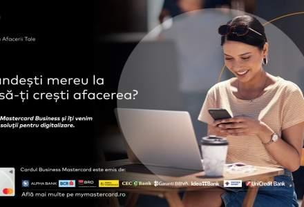 Mastercard sprijină IMM-urile cu o nouă suită de soluții pentru transformare digitală