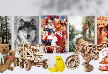 #WStories | Afacerea cu goblenuri, kit-uri de pictură și puzzle-uri, născută în carantină și crescută cu dorința oamenilor de a-și umple timpul