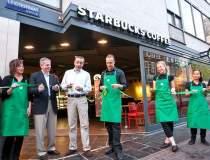 Starbucks in Iasi. Cafeneaua...