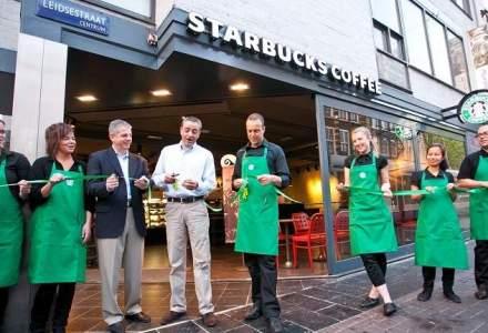 Starbucks deschide luni prima cafenea din Iasi si extinde reteaua din Romania