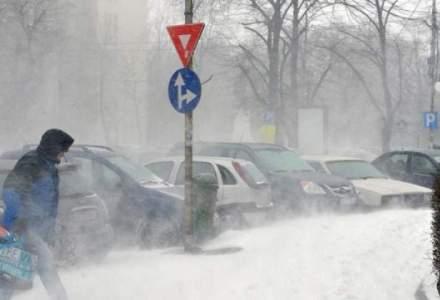 Situatia drumurilor inchise din cauza zapezii: 4 sosele au fost redeschise, dar 17 raman inchise