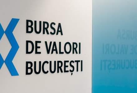 Bursa de la București a pierdut 827 mil. de lei din capitalizare în această săptămână