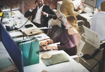 Serviciile prestate pentru întreprinderi au crescut simțitor în primele opt luni ale anului