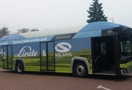 Un autobuz cu hidrogen este testat în România în 12 orașe