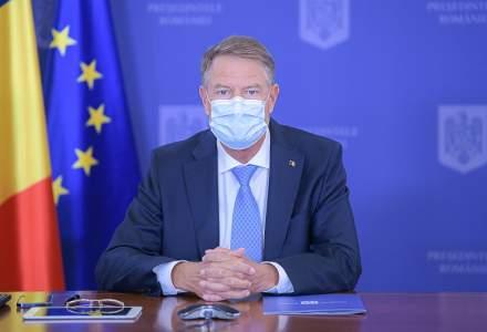 Klaus Iohannis: Am decis sa convoc mâine o sedință cu cei care au gestionat pandemia pentru măsuri restrictive