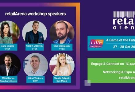 Înscrie-te la workshopurile retailArena: A Game of the Futureși învață cum să ai grijă de afacerea ta în online