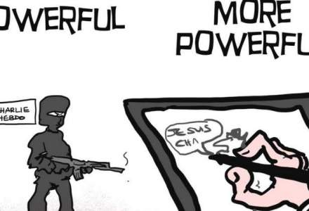 Primele pagini ale celor mai cunoscute publicatii dupa atacul de la Charlie Hebdo: cum raspund caricaturistii din intreaga lume