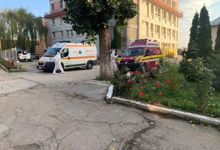 Situație critică: Instalația de oxigen de la Spitalul de Urgență Târgu Cărbunești s-a stricat și s-a început transferul pacienților