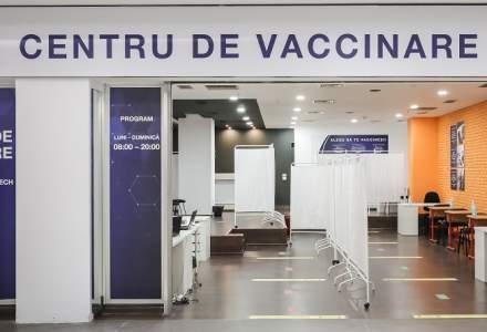 S-a deschis un nou centru de vaccinare în București Mall-Vitan