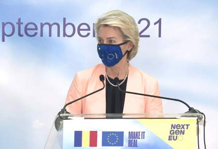 """Ursula von der Leyen: UE nu va finanța """"garduri de sârmă ghimpată și ziduri"""" anti-migranți"""