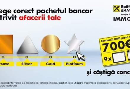 (P) Castigi pentru afacerea ta cu pachetele de cont curent pentru IMM de la Raiffeisen Bank