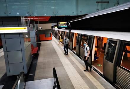Noi măsuri pentru prevenirea răspândirii COVID la metrou. Ce a stabilit Metrorex