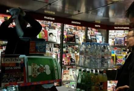 """Vanzarile revistei Charlie Hebdo au """"explodat"""": tirajul a fost marit la cinci milioane de exemplare"""