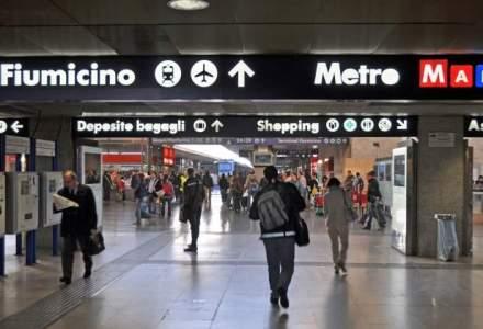 Avion evacuat pe aeroportul din Roma, din cauza unei alerte cu bomba