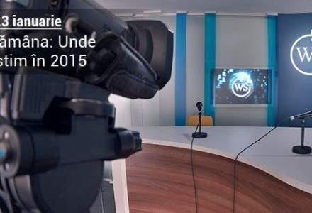 Unde investim in 2015? Afla raspunsul la WALL-STREET 360 din Saptamana Finantelor Personale