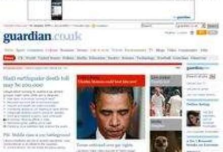 Publisherul The Guardian: Pierderi de peste 60 mil. euro in 2009